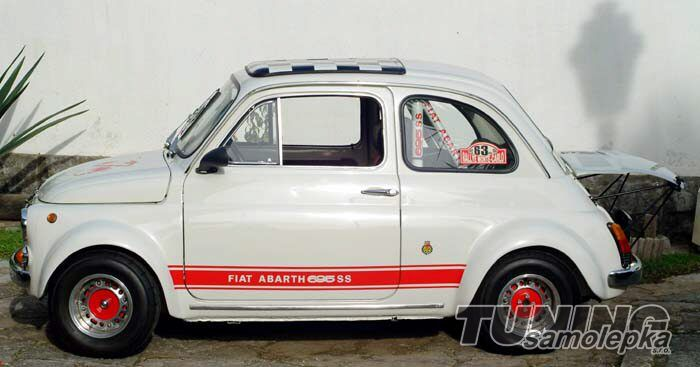 fiat abarth 500 bo n polep bo n polepy tsdesign s r o tuning car design. Black Bedroom Furniture Sets. Home Design Ideas